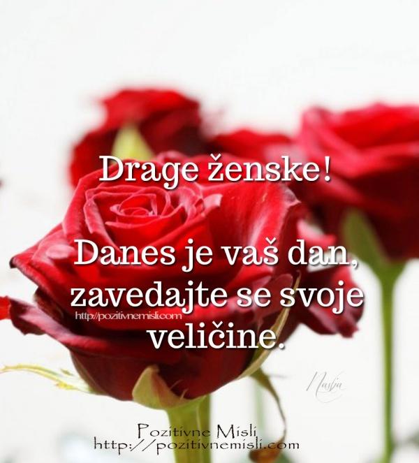 8. marec – Drage dame, danes je naš praznik