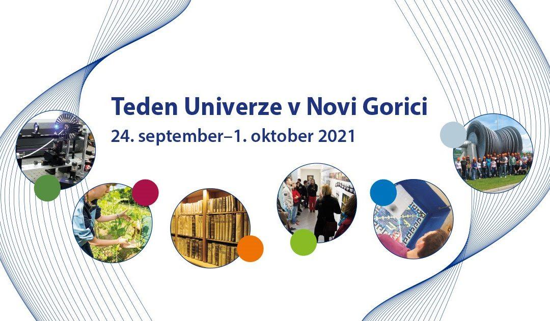 Teden univerze v Novi Gorici